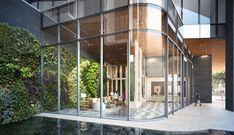 With Ward Village, Richard Meier and Bohlin Cywinski Jackson Bring Signature Architecture to Honolulu,Anaha / Solomon Cordwell Buenz + Benjamin Woo Architects. Image © The Howard Hughes Corporation