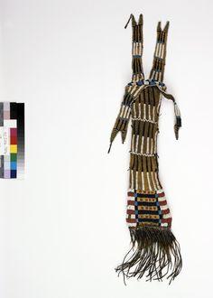 Сумка для табака, Южные Арапахо. Период 1870-1890. Paul Dyck.