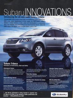 2018 Subaru Tribeca : subaru, tribeca, Subaru, Tribeca, Ideas, Tribeca,, Subaru,