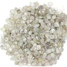 2.00 Ct 1 MM Size Natural Rough Loose Diamond White Color Sparking Diamonds Lot #Unbranded