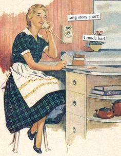 The Best Of Anne Taintor Retro Humor For Your Sarcastic Soul Anne Taintor, Vintage Humor, Retro Humor, Retro Funny, Vintage Ads, Housewife Humor, Retro Housewife, Haha Funny, Funny Jokes