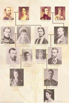 The Romanovs and the Windsors