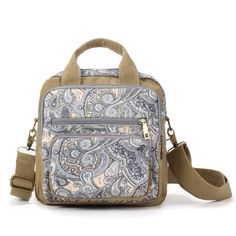 Material:Canvas    Lining Material:Polyester    Color:As the picture    Weight:500g    Length:24cm(9.45'')    Width:12cm(4.72'')    Height:24cm(9.45'')    Shoulder Strap:100cm(39.37'')-200cm(78.74'')    Structure:Main Pocket,Front Pocket,Back Pocket,Zipper Pocket,Card Pocket,Phone Pocket    Closure:Zipper                        Package Include:    1 * Bag