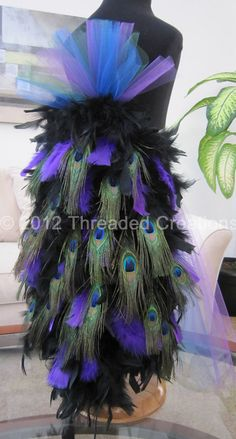 Hey, I found this really awesome Etsy listing at http://www.etsy.com/listing/84551869/peacock-feather-bustle-tail-for-costume