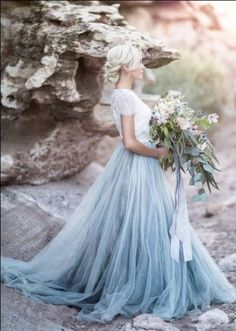 81 best tie dye wedding dress images on Pinterest | Boyfriends, Alon ...