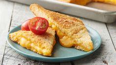 Sheet-Pan Crescent Grilled Cheese Crescent Roll Recipes, Crescent Rolls, Crescent Dough, Crescent Ring, Sauerkraut, Brie, Pizza Hamburger, Hamburger Casserole, Chicken Casserole