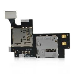 SIM CARD CONNECTOR AND MEMORY CARD HOLDER FLEX CABLE FOR SAMSUNG GALAXY NOTE 2 N7100  $13.99 Price