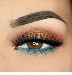 Make Up; Look; Make Up Looks; Make Up Augen; Make Up Prom;Make Up Face; Eye Makeup Steps, Smokey Eye Makeup, Eyeshadow Makeup, Makeup Tips, Beauty Makeup, Makeup Ideas, Eyeshadow Ideas, Makeup Inspo, Simple Eyeshadow