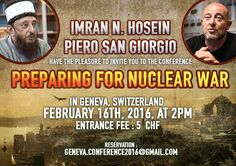 Preparing for Nuclear War Part 1 of 2 Sheikh Imran N  Hosein