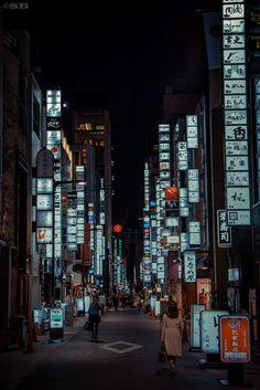 Ginza, Japan 銀座 日本