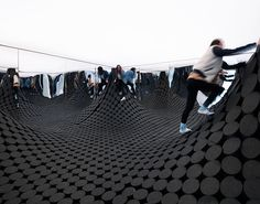 leong leong creates undulating TOPO installation