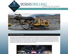 WEBSITE DESIGN >> Yesive Drilling (Mpumalanga)