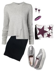 """""""Keds x Kats Spade"""" by tina-pieterse ❤ liked on Polyvore featuring J Brand, Proenza Schouler, Keds and Alexis Bittar"""