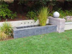 Outdoor Water Walls | Seven Ideas for Softening a Garden Wall