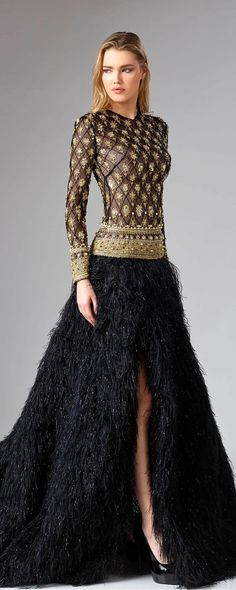 Edward Arsouni «Divina», A-H 2018-2019 - Haute couture - http://fr.orientpalms.com/Edward-Arsouni-7198