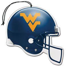 West Virginia Mountaineers 3-Pack Helmet Paper Air Fresheners