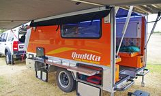 Macropod Campers - The Quokka Toy Hauler and Camper Trailer