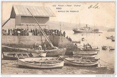 Vigo. Muelle de Piedra. Galicia