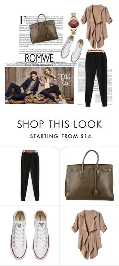 """""""autumn"""" by seka-247 ❤ liked on Polyvore featuring Yves Saint Laurent, Converse, Karl Lagerfeld and foo"""