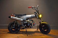 Honda Dax, by Low budget customs.