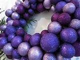 Purple & Silver Christmas Decor | Botanic Art
