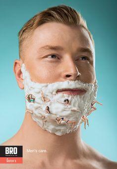 BRO: Men's care, 1 Advertising Agency: Looma, Ukraine
