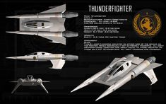 Buck Rogers in the Century Thunderfighter Ortho by unusualsuspex on DeviantArt Spaceship Concept, Spaceship Design, Spaceship Art, Robot Design, Buck Rodgers, Space Fighter, Sci Fi Tv, Sci Fy, Sci Fi Shows