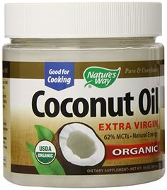 Nature's Way Coconut Oil, 16 Ounce - http://goodvibeorganics.com/natures-way-coconut-oil-16-ounce/