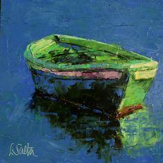 Still Waters, painting by artist Leslie Saeta