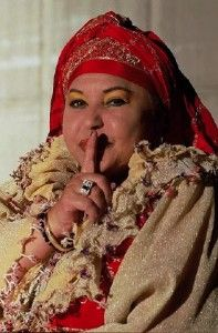 Beloved singer of the Romani people, Esma Esma Redzepova Teodosievska