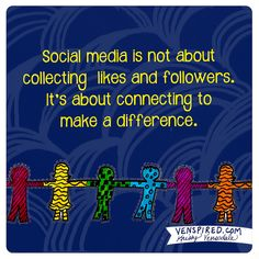 """At Harris Social Media our tagline is """"Helping Businesses Connect"""" which is reflected in this graphic. Social Media Services, Social Media Tips, Social Networks, Digital Marketing Strategy, Social Media Marketing, 21st Century Learning, Digital Literacy, School Counseling, Counseling Quotes"""