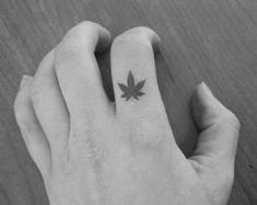 Simple Small Stoner Tattoos