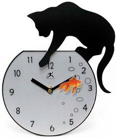 27. Fisher Wall Clock, $80   35 Clocks That Look Amazingly Not Like Clocks