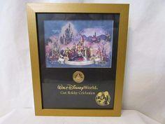 Disney Cast Holiday Celebration Coin Framed Commemorative Print #Disney