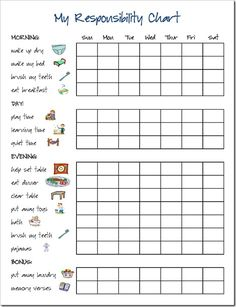 "printable charts for picky eaters | Next on my agenda is a ""food group"" chart. I'm crossing my ..."