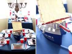 1 year old nautical pirate party