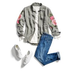 Stitch Fix Fashion Trends Get your box now! Your own personal stylist and clothes delivered to you! I love STITCH FIX! To find out more just click pin. Stitch Fix Blog, Stitch Fit, Stitch Fix Fall, Stitch Fix Stylist, Stitch Fix Jacket, School Looks, Casual Outfits, Cute Outfits, Fashion Outfits