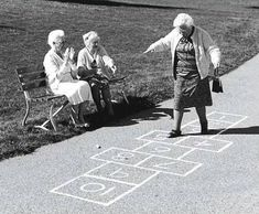 nver too young to play hop scotch