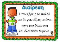 Teachers Aid: Πότε κάνουμε διαίρεση Dyscalculia, Greek Language, Teaching Methods, Math Numbers, Teaching Math, Maths, School Hacks, School Ideas, Primary School