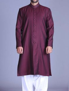 Here is the latest Pakistani men kurta shalwar kameez designs by top Pakistani designers. All of latest men kurta design for men are shown with pictures. Gents Kurta, Kurta Men, Kurta Style, Abaya Designs, Eid Collection, Shalwar Kameez, Pakistani Dresses, Tunic Tops, Sufi