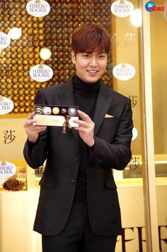 "Lee Min Ho - ""Ferrero Rocher Chocolates"" Promotion in Taiwan"