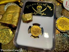 Pirates Gold, Pieces Of Eight, Gold Coins