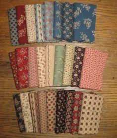 Civil War Melodies- New Civil War era reproduction fabric from Judie Rothermel.