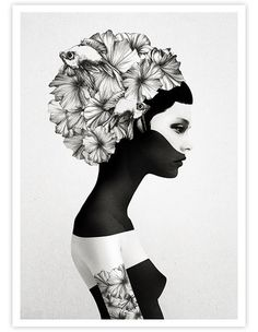 norsu are thrilled to team with Dutch artist Ruben Ireland to represent a selected range of his iconic art prints. This stunning illustration has been produced Art And Illustration, Portrait Illustration, Framed Art Prints, Fine Art Prints, Canvas Prints, Framed Canvas, Buy Prints, Art Mural, Wall Art