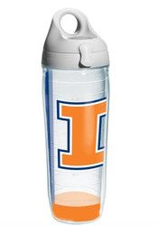Illinois Fighting Illini Wrap Water Bottle