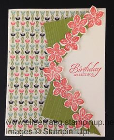 Eileen's Stamping Corner: Side Collar Card