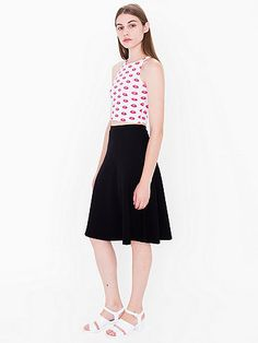 Ponte Midi A-Line Skirt - Audrey Horney Possibly