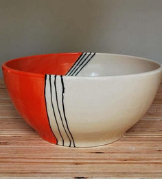 Adorable Stoneware Ceramic Bowl (122)