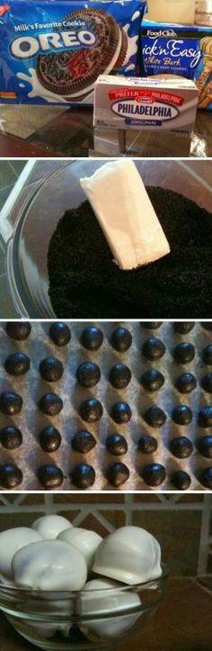 Oreo balls... like deep fried oreos but not