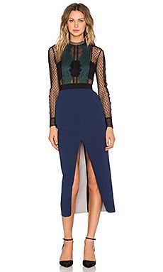 Shop for self-portrait Lace Trimmed Pencil Dress in Black & Navy at REVOLVE. Free 2-3 day shipping and returns, 30 day price match guarantee.